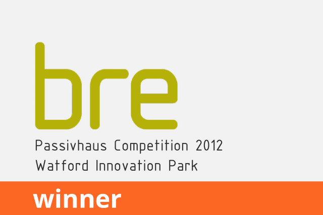 BRE Passivhaus Competition, Watford Innovation Park, Winner 2012