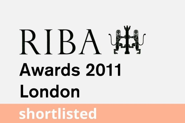 RIBA London Award, Shortlisted 2011