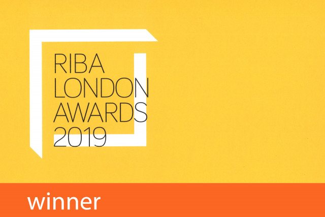 RIBA London Awards Winner 2019