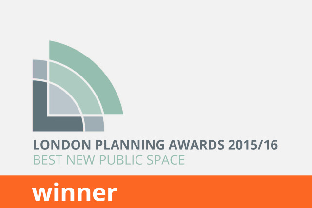 London First London Planning Awards, Best New Public Space, Winner 2015/16