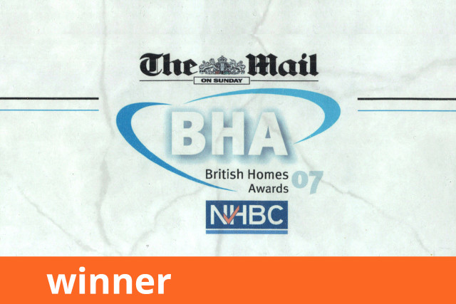 Mail on Sunday British Homes Awards, Winner 2007